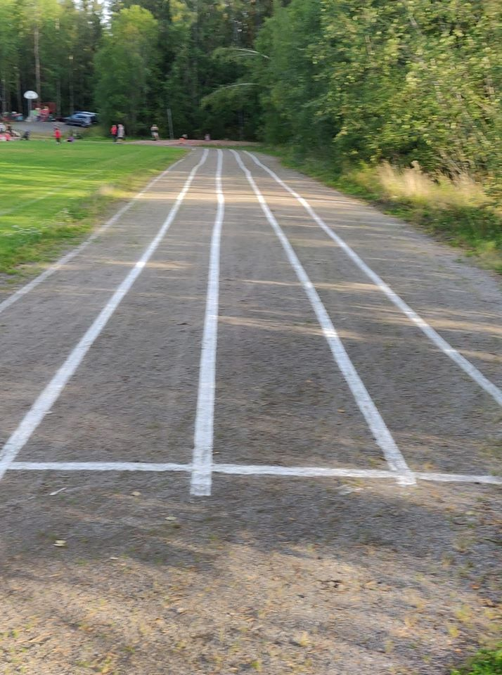 Paattisten urheilukentän juoksurata kuntoon