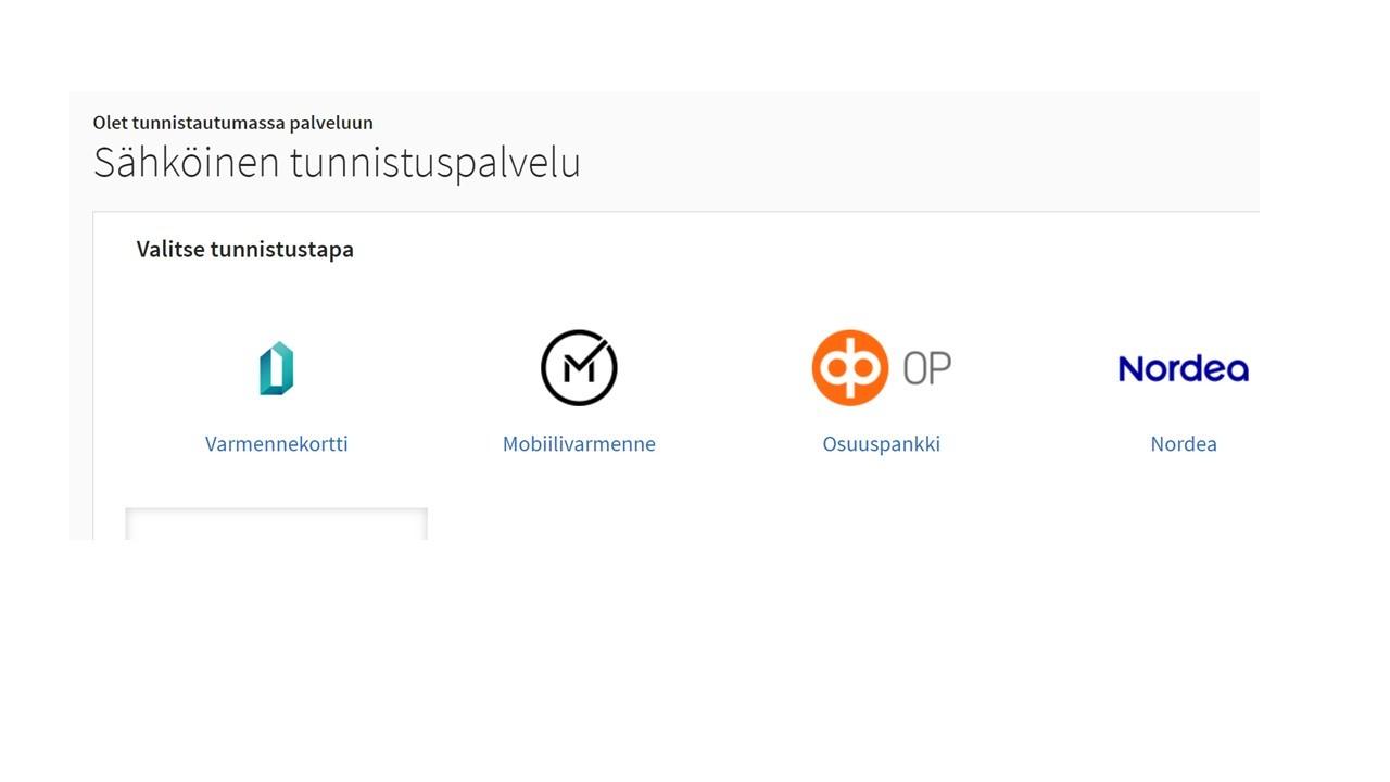 Suomi.fi-tunnistautuminen